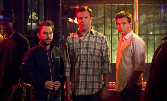 Charlie Day, Jason Suidekis, and Jason Bateman