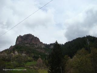 Скалите над град Смолян