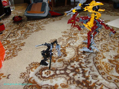 Mata Nui, Fero and Skirmix