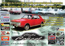 Encontro Comemorativo dos 42 anos do lançamento do Corcel