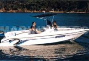 Cyclone 680 centre console fishing boat reviews boat show boat each boat is totally hand laid using the very best materials he also uses klegecell high density foam coring throughout the hull so construction is light publicscrutiny Images