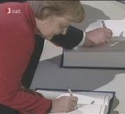 Merkel unterzeichnet den Lissaboner Vertrag