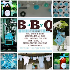 BBQ Baby Shower & Invitation