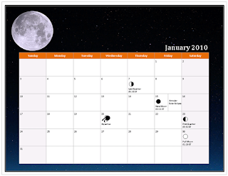 ms office 2010 calendar
