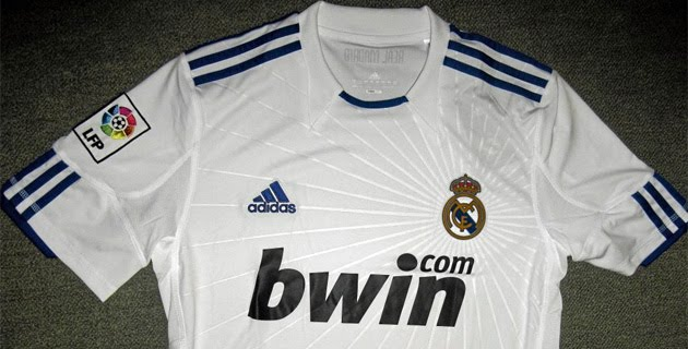real madrid 2011 kit. The full kit will be announced