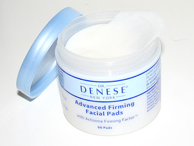 DeneseFacialFirmingPads1 This nomination is absoluteky won by Dr Denese's Advanced Firming Facial Pads