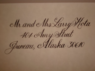 calligraphy by kelly ann