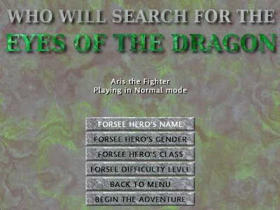 Eyes of the Dragon - Character Generator