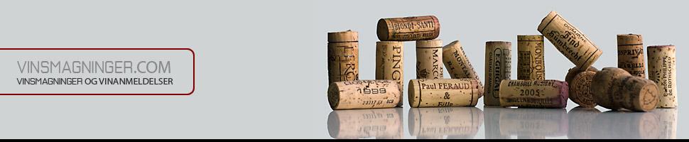 Vinsmagning, vintest og vinartikler