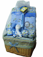 Mini Beetle Basket Gift Set - Blue