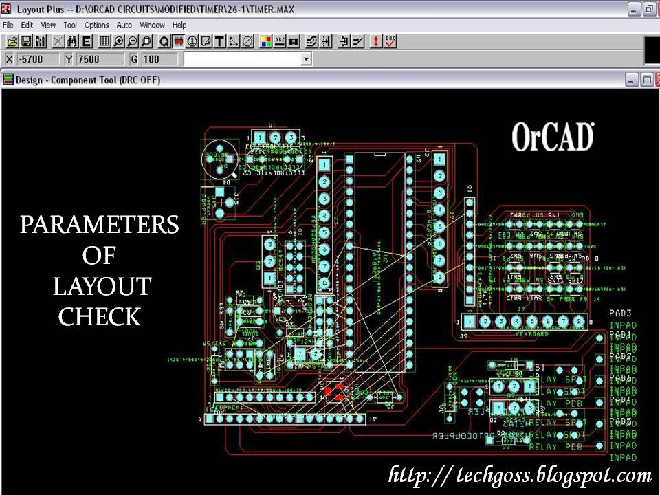 Parameters of Layout Check while Designing a PCB Layout Scale