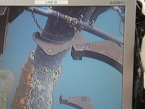 Mars 2009: Gabarit pour clamp sous-marin capacité 30T
