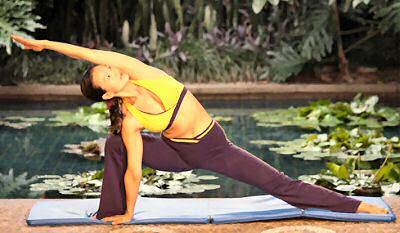 yoga pretzel cards