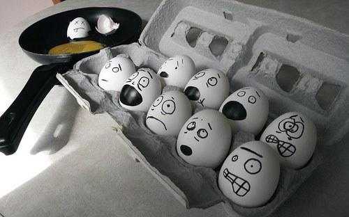 Los huevos tambien tienen setimientos(Un posts de huevos)