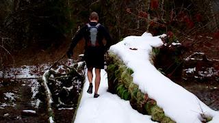 running hoh trail