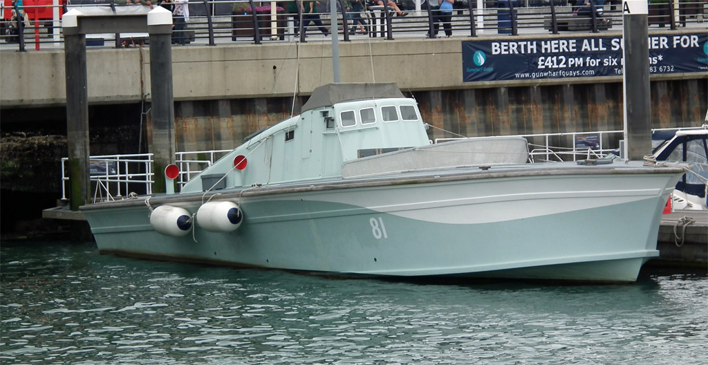 WEMNS4 Fairmile D MGB660 Motor Gun Boat 1943 1-350 Whit | eBay