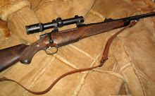 All up with 30mm Kahles scope, Warne rings and Murray Leather sling, the rifle weighs 10½ lbs.