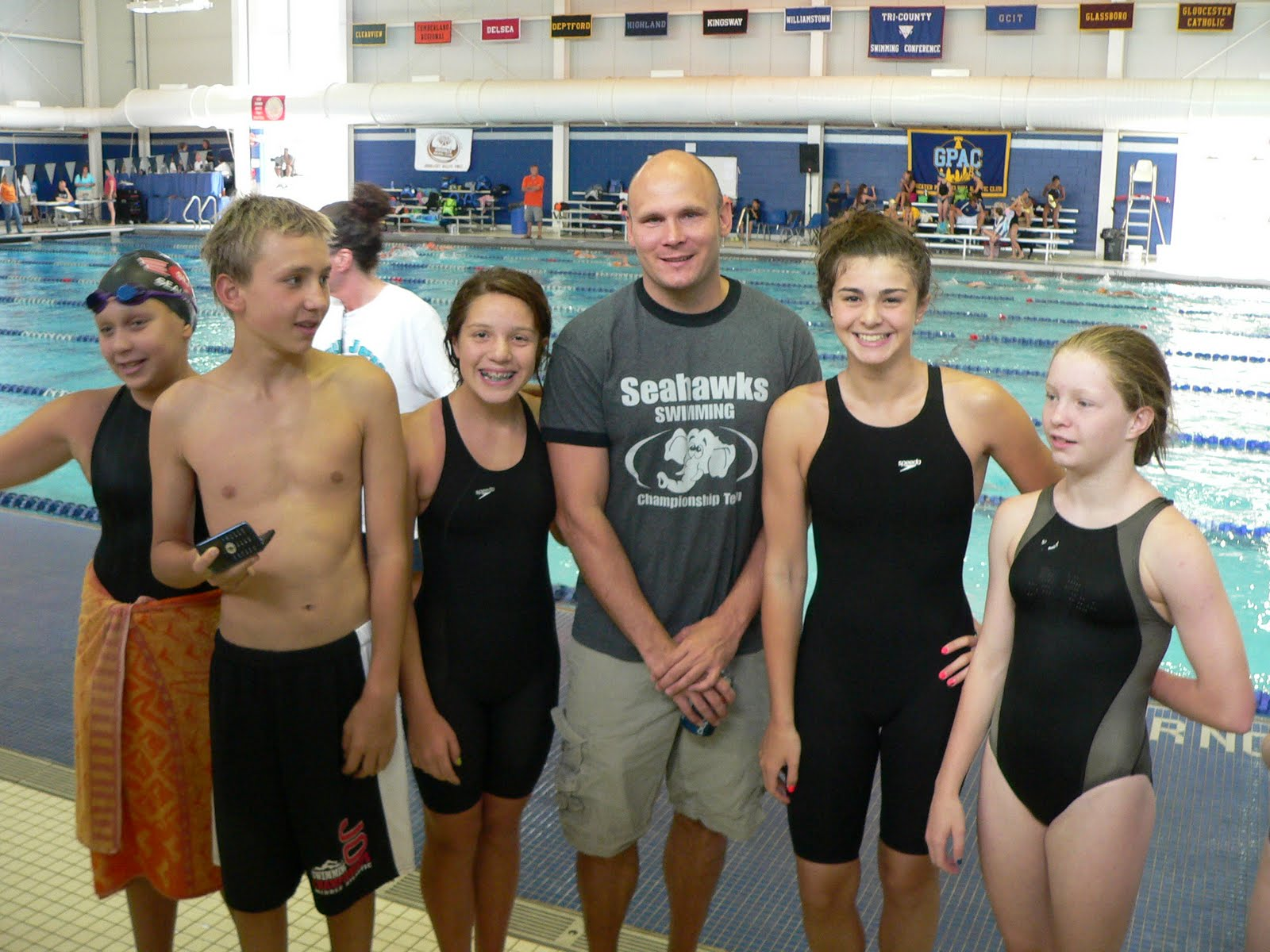 fall breakout swim meet