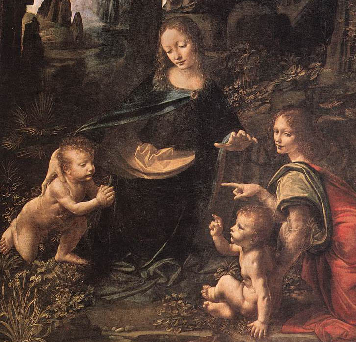 Leonardo+da+vinci+madonna+of+the+rocks+original