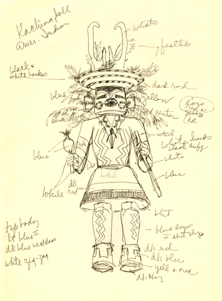 kachina coloring pages to print - photo#4