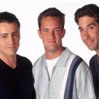 Joey, Chandler and Ross