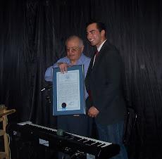 """Proclamación del """"Día de Pepe Motta en Nevada"""", 6 de julio,día de su cumpleaños,por su trayectoria."""