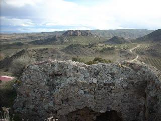 Ruinas del castillo de Tudején