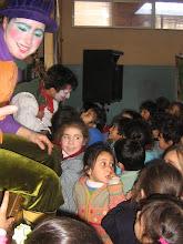 los niños y los actores