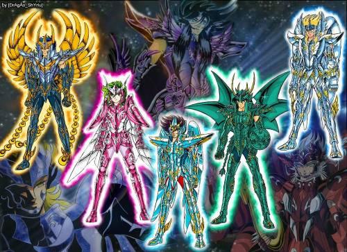 Os Cavaleiros do Zodiaco - A NOVA SAGA COMEÇARA 2