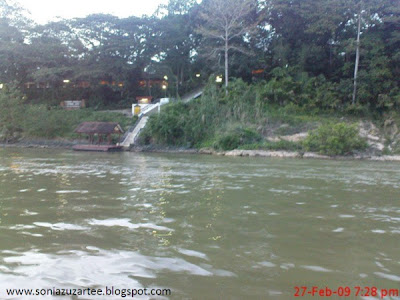 Jetty and entrance to Mutiara Taman Negara