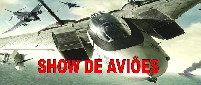 show de aviões