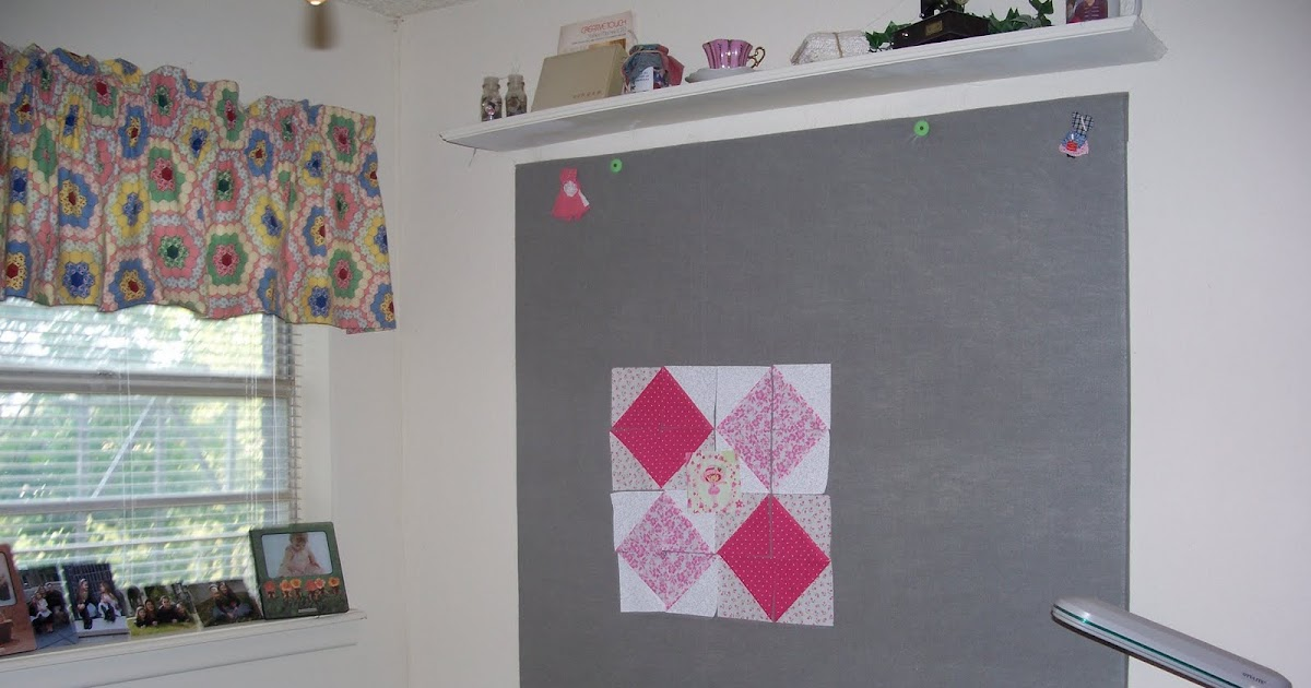 Quilting Room Wall Decor : Becky s country quilting design wall in sewing room