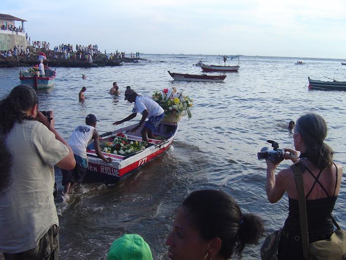 Dia de Yemanjá no Rio Vermelho
