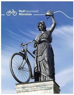 Bicicleta é prioridade em Munique