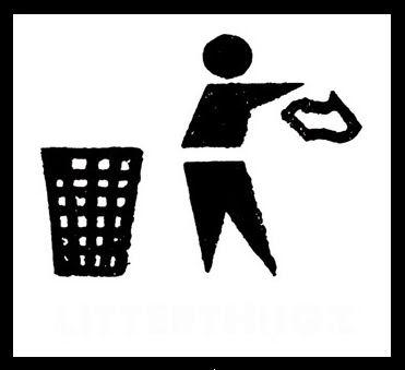 buang sampah? sembarangan aja...