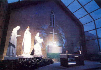 Dominican sunday at knock shrine