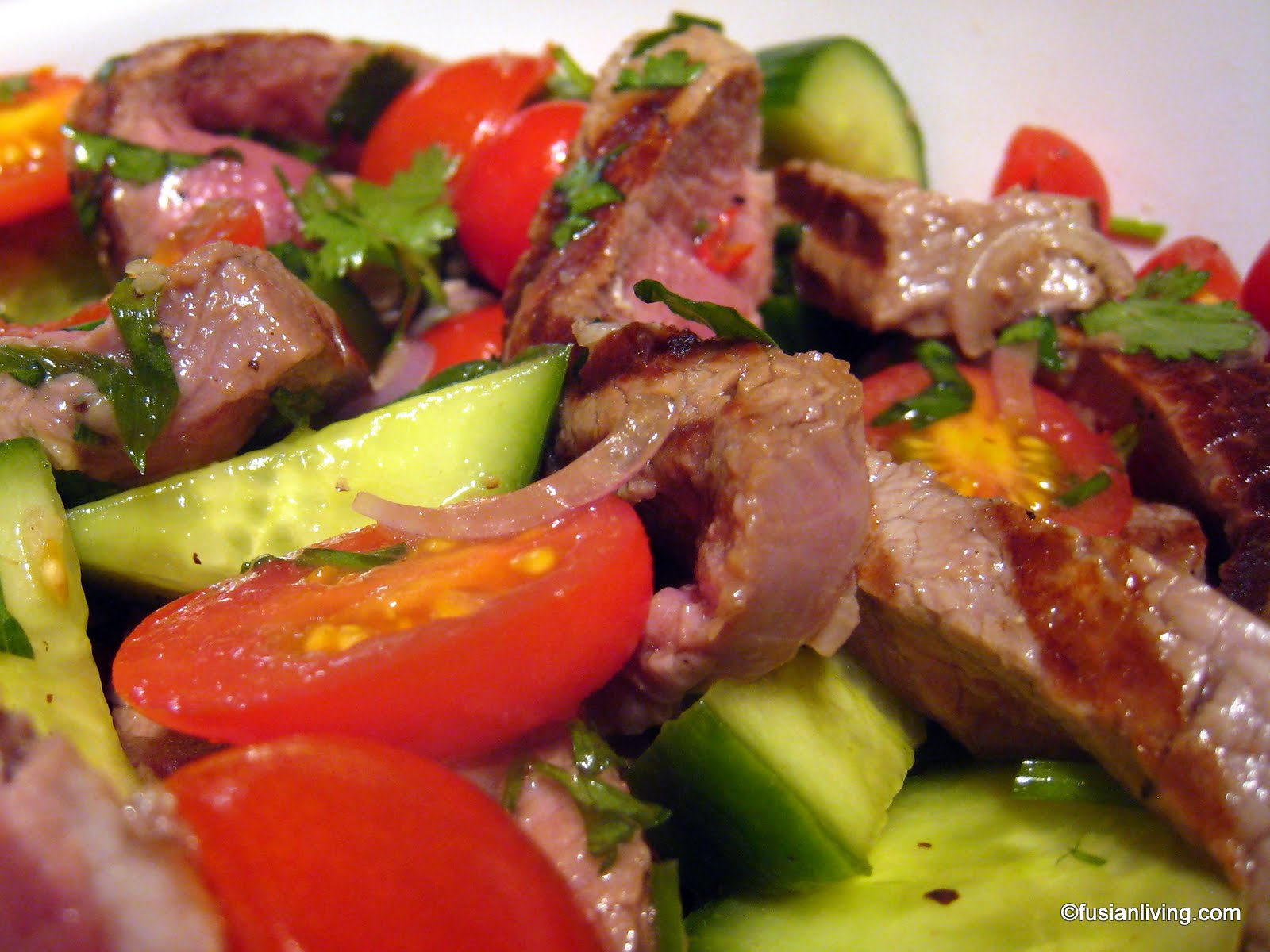 Thai Beef Salad - An Explosion of Flavours! | Grow Your Own Veg Blog ...