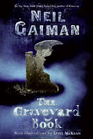 the graveyard book cover art