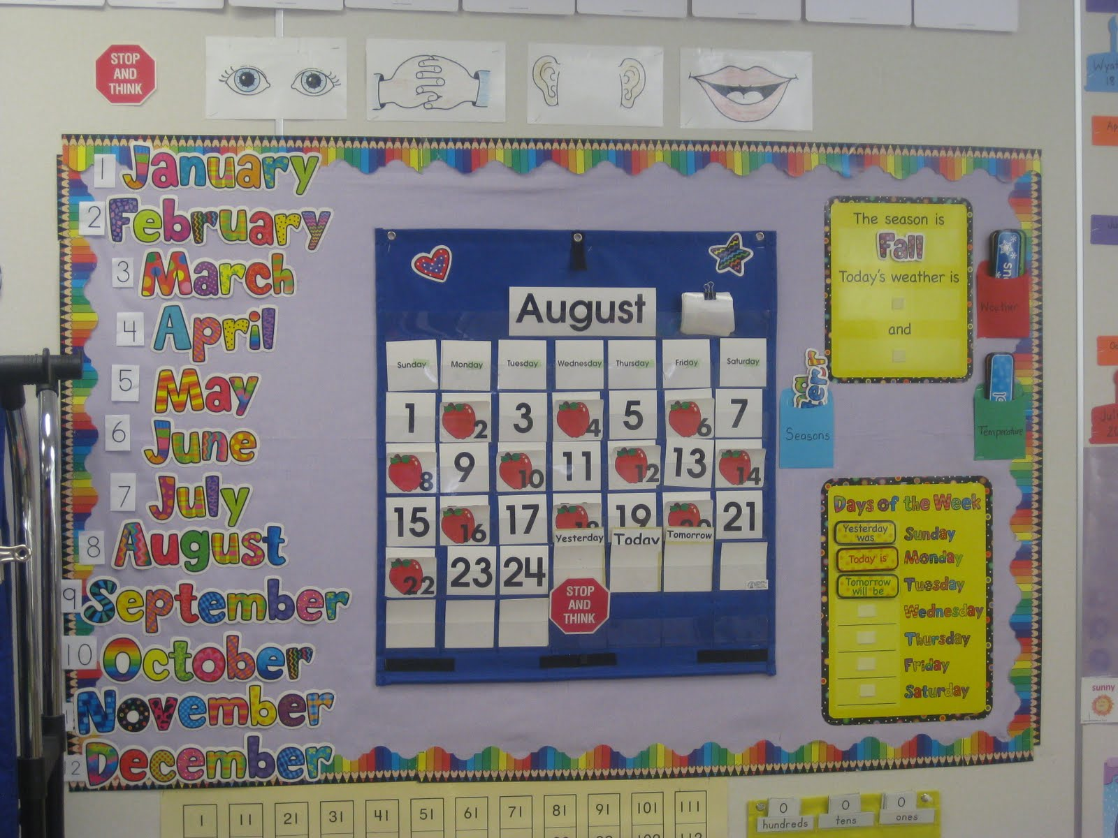 Kindergarten Readiness Calendar : My collective thoughts welcome kindergarten