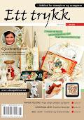 Gjestedesigner i bladet Ett Trykk. Oktober 2010