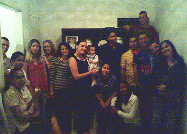 Visita ao Casal Arlinson, Dislane e Família.