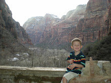 Zander at 'Weeping Rock'