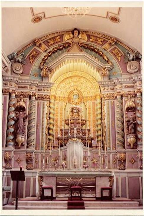 capela mor reformada em 1963