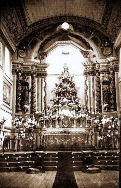 altar mor antes da reforma de 63