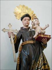 st antonio  retorna à sua capela, estava em poder do pároco da matriz conceição