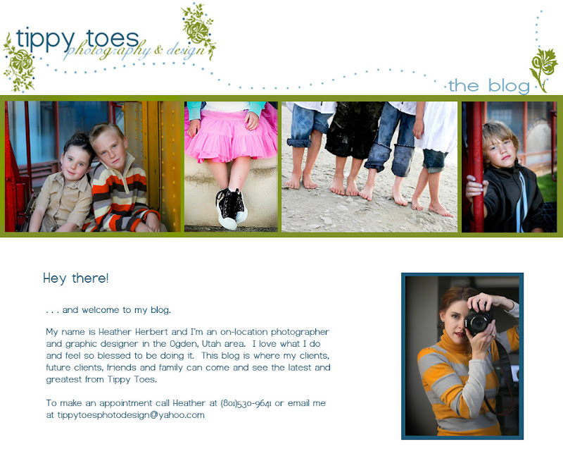 Tippy Toes Photography Blog