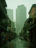Rainy day in the Quarter