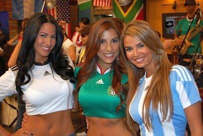 World cup football girls
