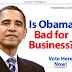 Obama Bad for Business Ads