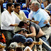 US Open 2010 Brawl and Tennis Fans Fight at the Bleachers (VIDEO)
